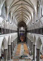 Salisbury Cathedral's nave