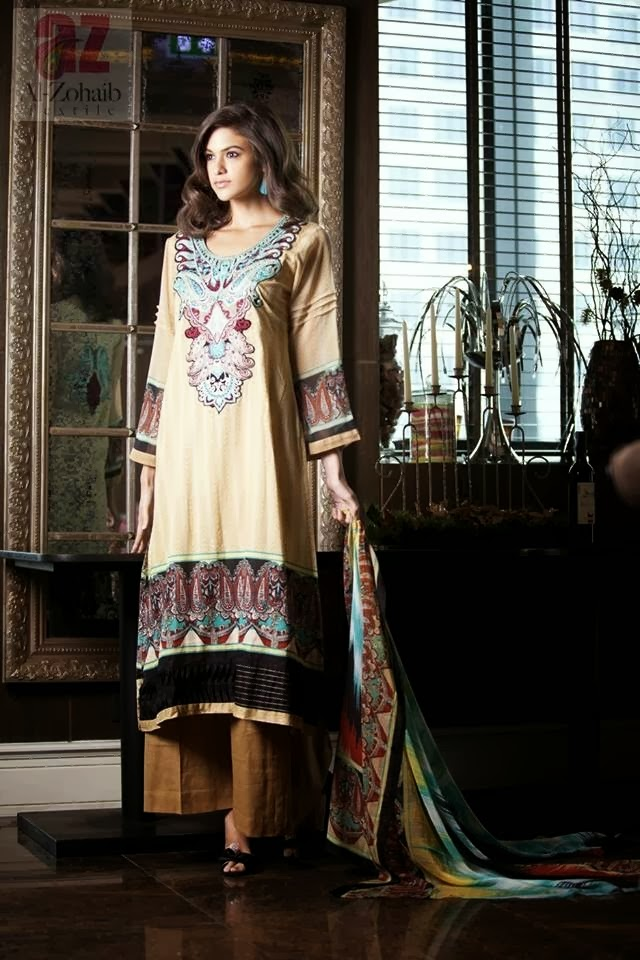 Latest Printed Lawn Suits