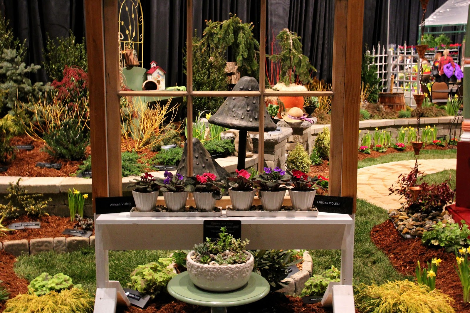 Home place the 35th annual connecticut flower and garden show for Garden barn vernon ct
