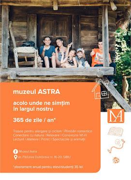 Abonament elevi/ studenți - 365 de zile @Muzeul ASTRA