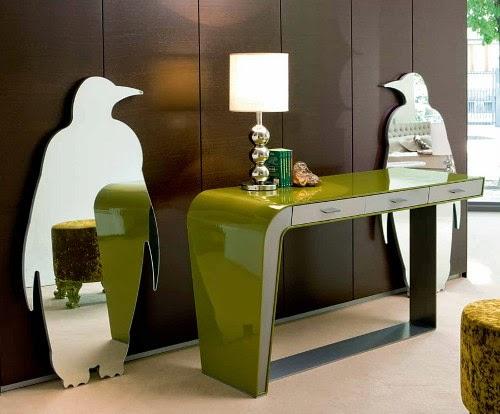 Mirror panels for walls - glamorous interior