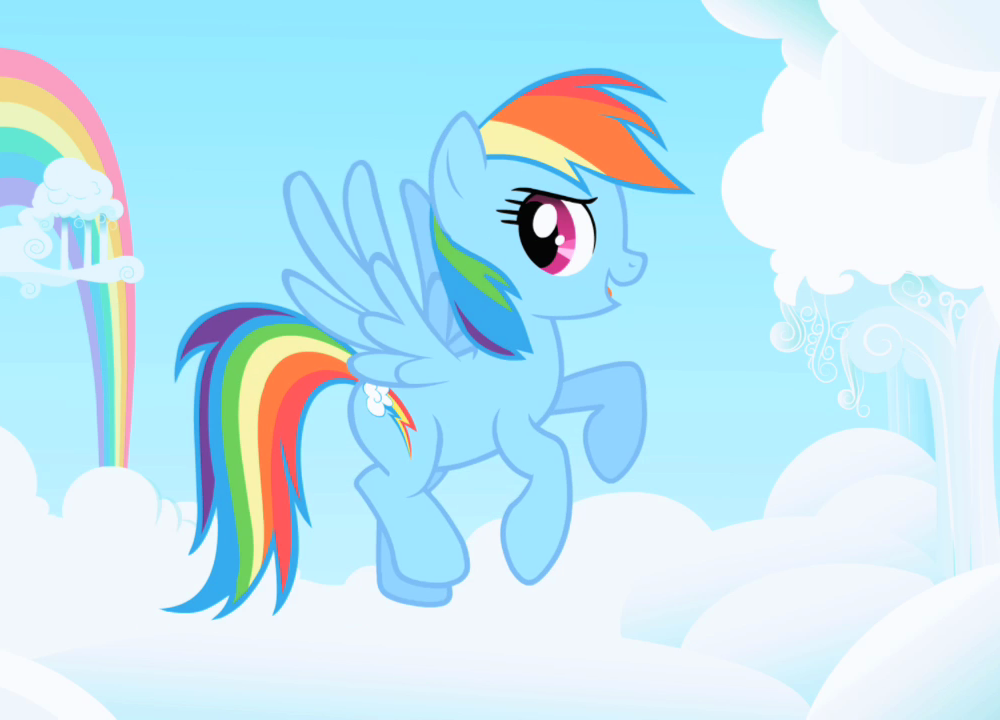 Gallery For gt Rainbows And Ponies