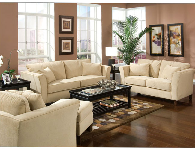 Home design living room furniture and living room for Modern living room sets
