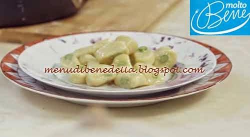 Gnocchi con gli Asparagi ricetta Parodi per Molto Bene su Real Time