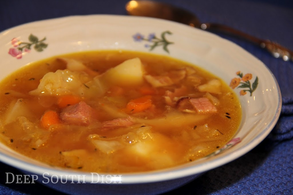 Deep South DishHam and Cabbage Soup