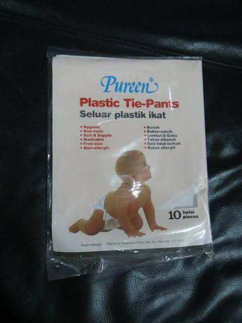 Plastic Tie Pants