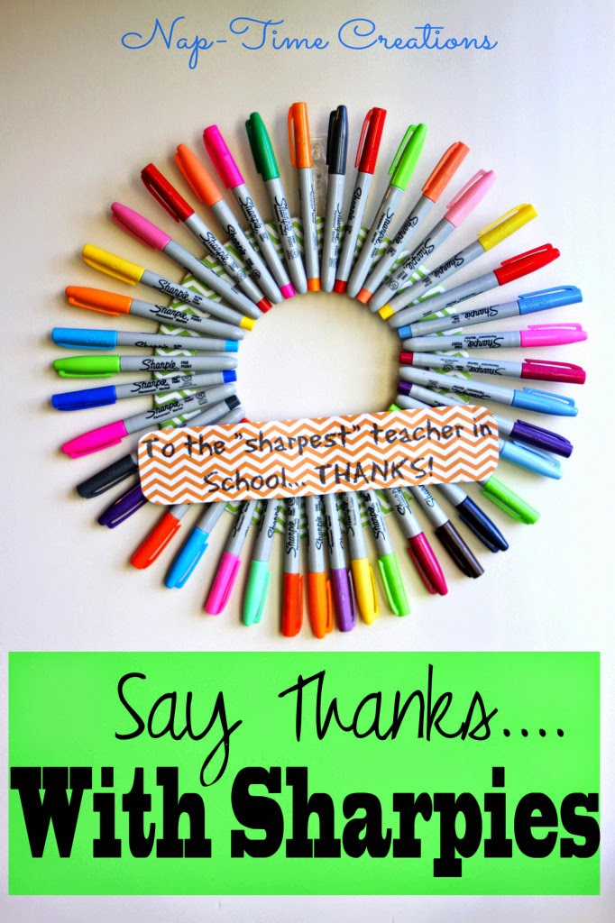 Sharpie Teacher Gift Idea