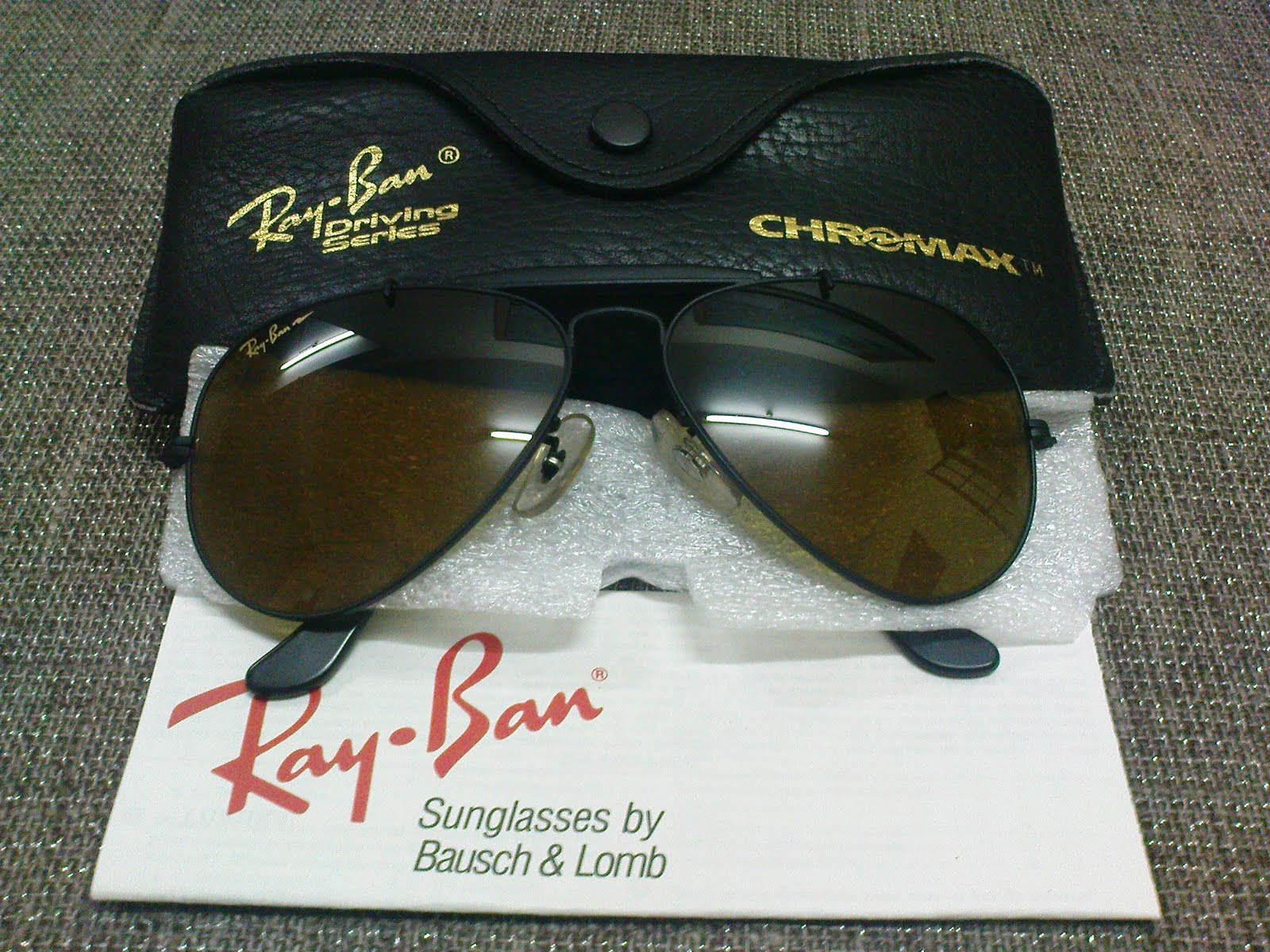 ray ban driving series chromax