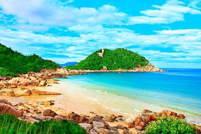 Laguna tropical y playas de arenas blancas - Vacaciones