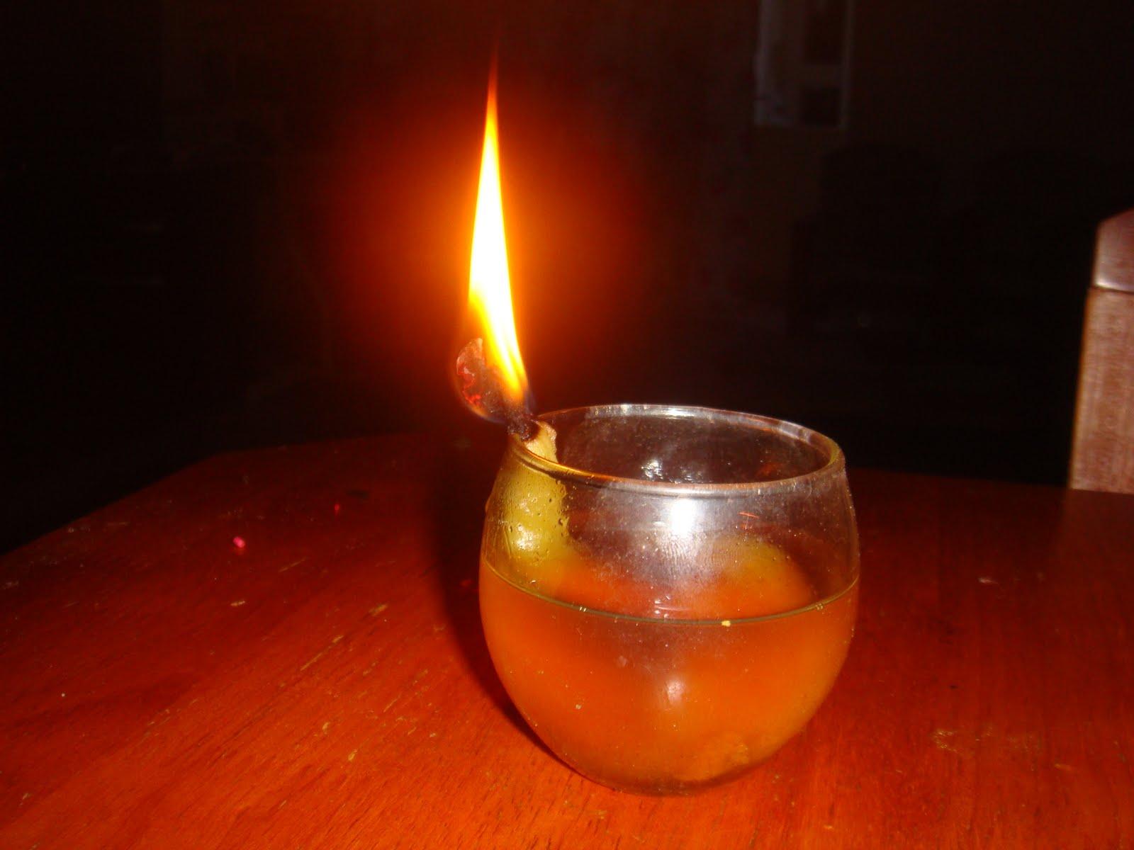 Cara Membuat Lilin Darurat Dari Minyak Goreng