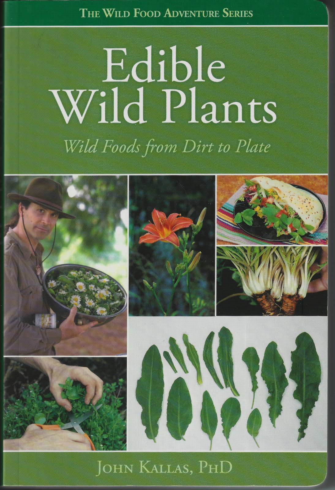 Book of edible plants for survival of