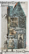 Encaustic and Metal Workshop