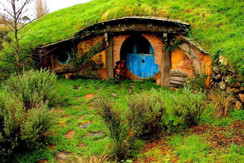 The Flying Tortoise: Where The Hobbits Live...