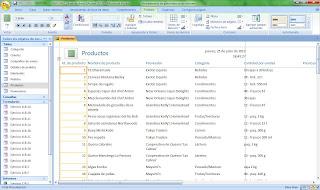 Crear informes access