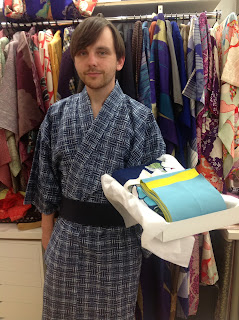 Yukata for Man from Kimono House NY