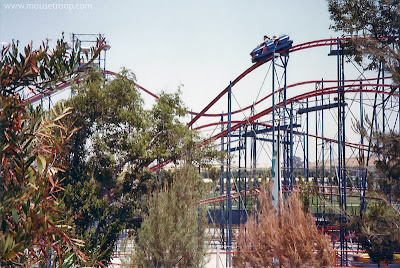 Mountain Express Magic roller coaster 1975 big portable