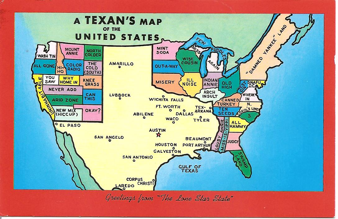 United States By A Texan