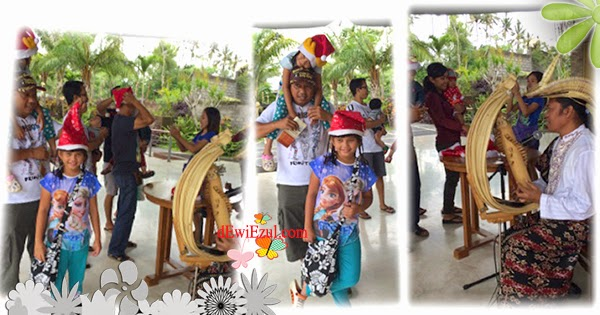 jalan jalan ke Taman Nusa bali bersama anak