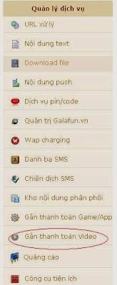 đăng bán ebook trên sms