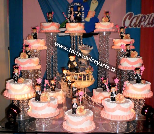 torta graduacion promocion chantilly 1