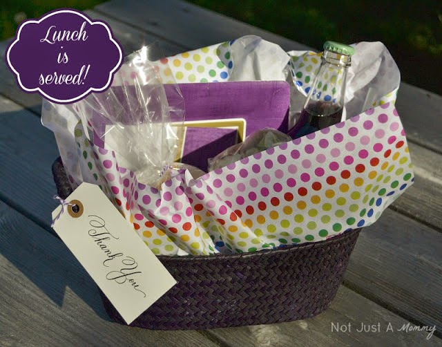 Mother's Day gift picnic basket