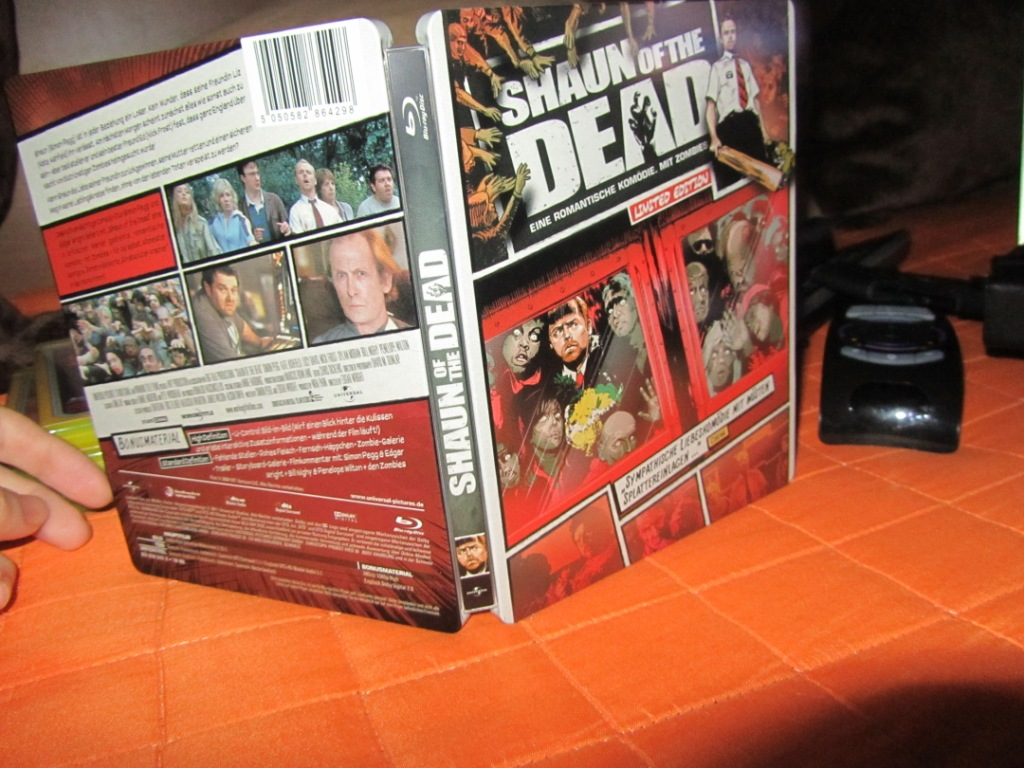Rafa Collection Shaun Of The Dead Limited Steelbook Edition Bd De