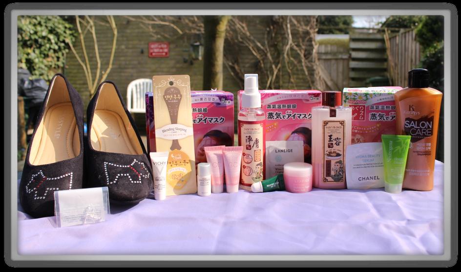 YesStyle Order #2 Skincare Fashion Haul korean chinese japanese kao laneige kerasys hanaka etude house