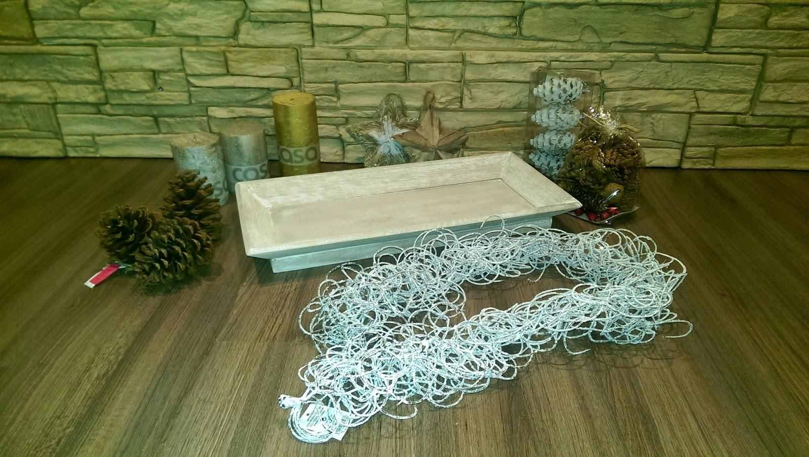 materiales centro navideño