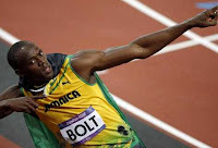 USAIN BOLT GANADOR EN LONDRES 2012 !!!