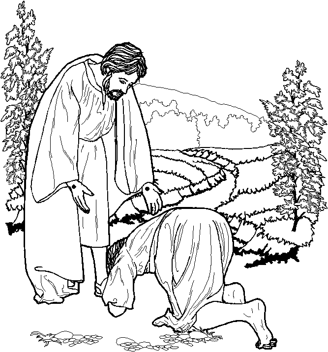 Dibujos de amor: dibujos cristianos para colorear ...
