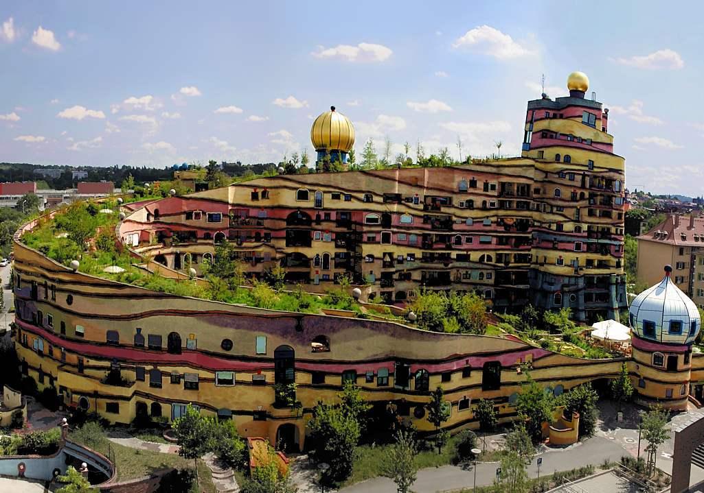 Hundertwasser ou l 39 architecture conviviale agoravox le - Maison south perth matthews mcdonald architects ...