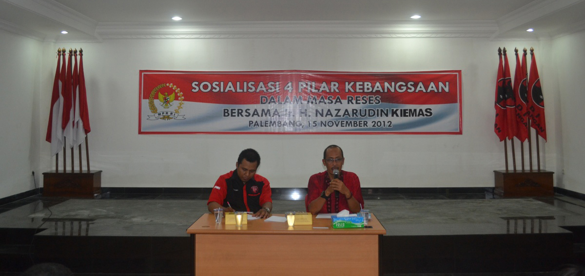 DPD PDI-Perjuangan Sumsel Sosialisasikan 4 Pilar Kebangsaan