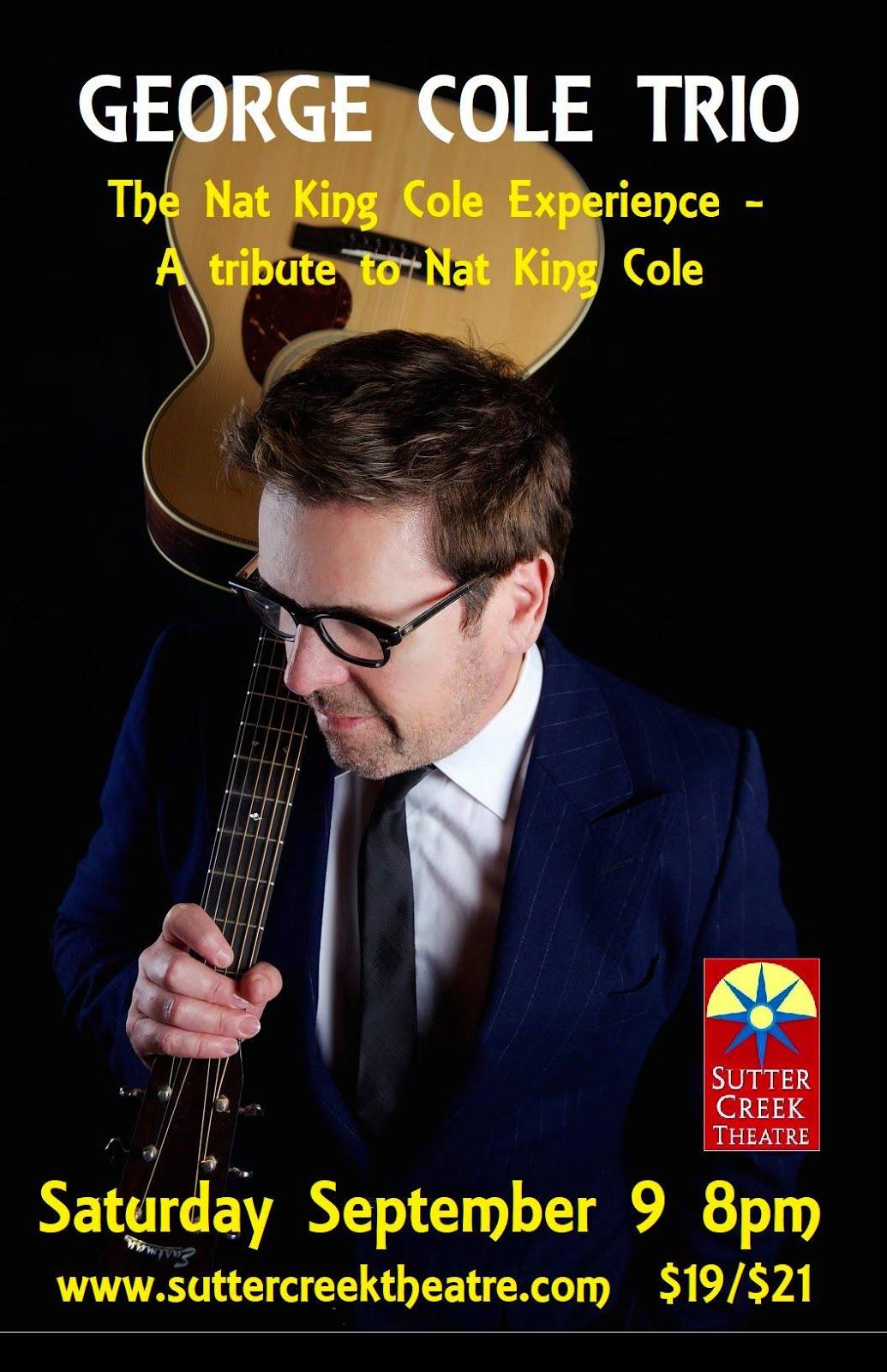 George Cole Trio - Sat Sept 9