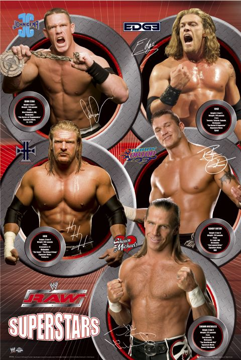 WWE Raw Superstars