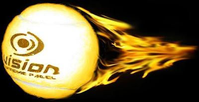 bola de fuego padel