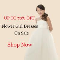 Flower Girl Dresses on Bridesmaid Tide