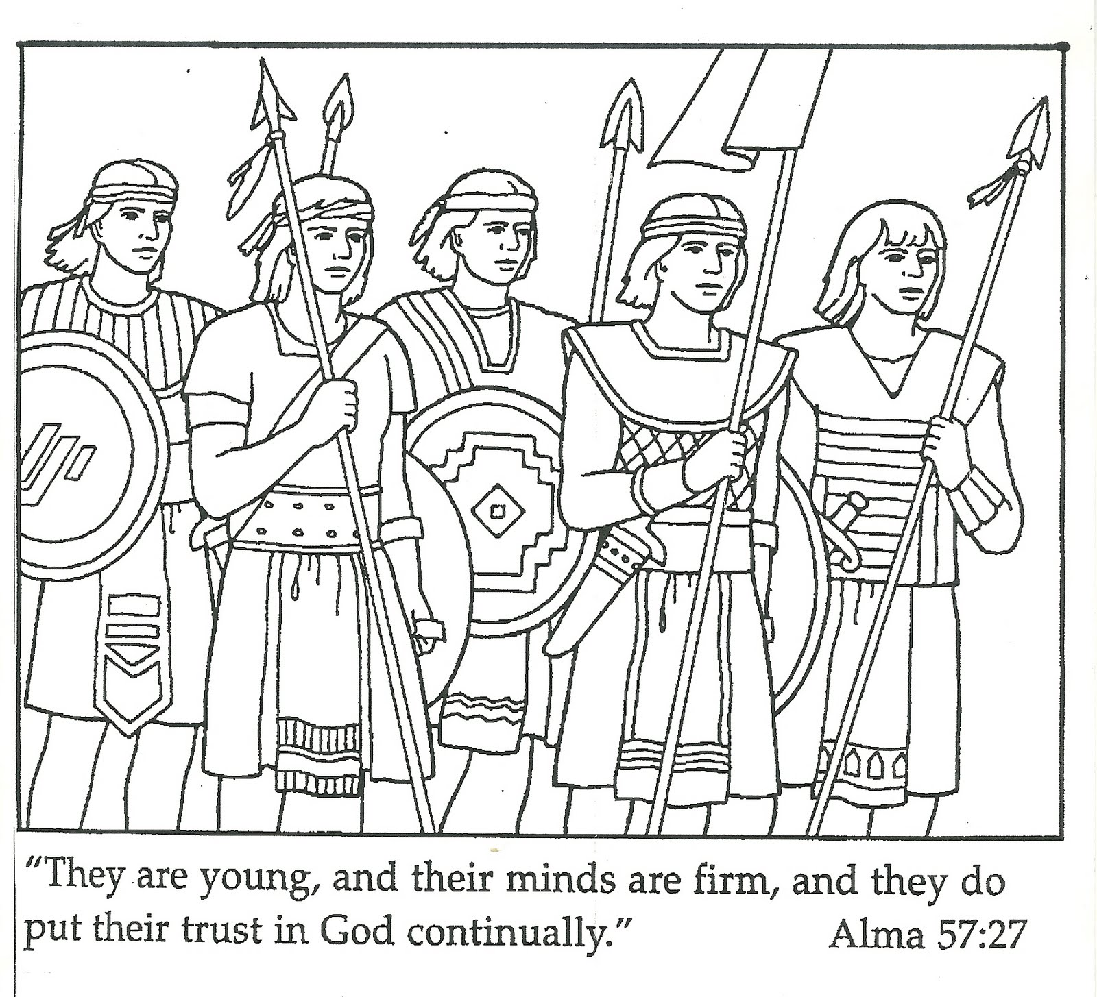 book of mormon coloring pages - photo#4