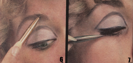 1968 's Make Up - The Dolly look beauty eye 60s 1960 mary quant