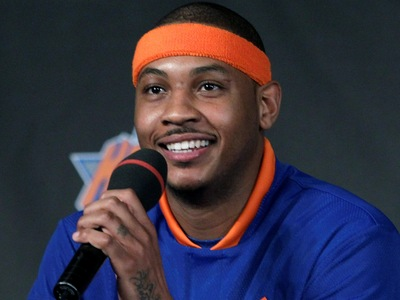 The fact is Carmelo is here!