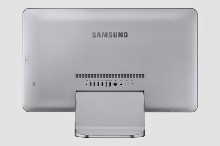 моноблок Samsung ATIV One 7 Edition с задней стороны