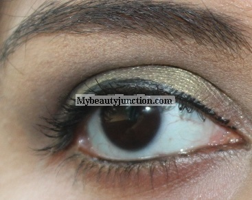 EOTD: Olive green smoky eye makeup look with Sephora Blockbuster