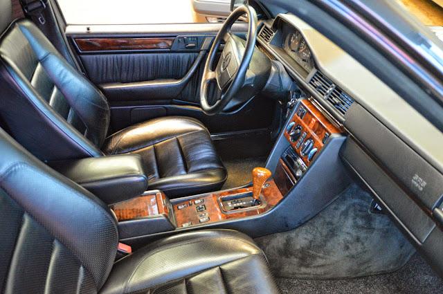 w124 interior amg