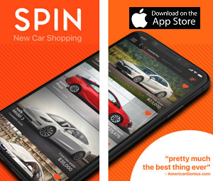 Shopping App of the Month - SPIN: New Cars for Sale