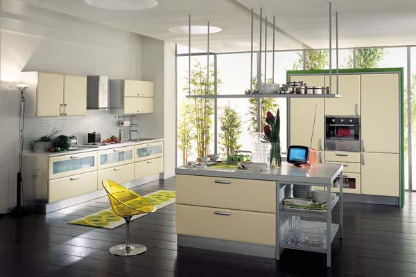 Home decoration design easy kitchen decorating ideas for Simple modern kitchen cabinets