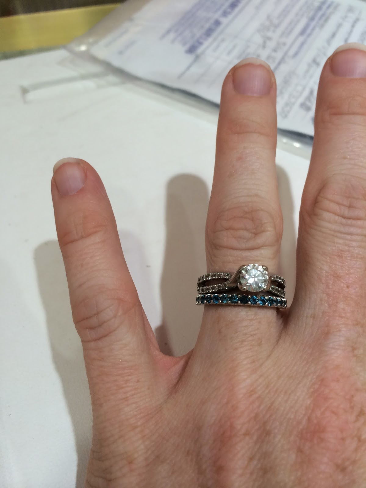 Doeblerghini Bunch:  Around Here Update - My wedding band