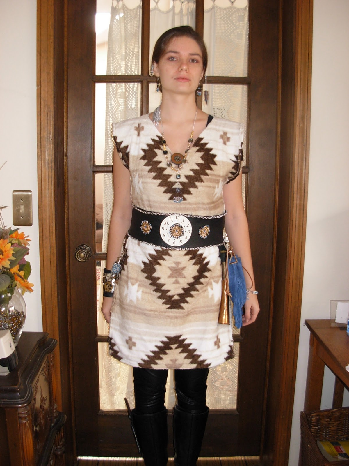 Navajo Clothing Patterns http://trva123.blogspot.com/2011/11/steampunk-navajo.html