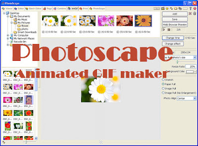 Photoscape GIF maker