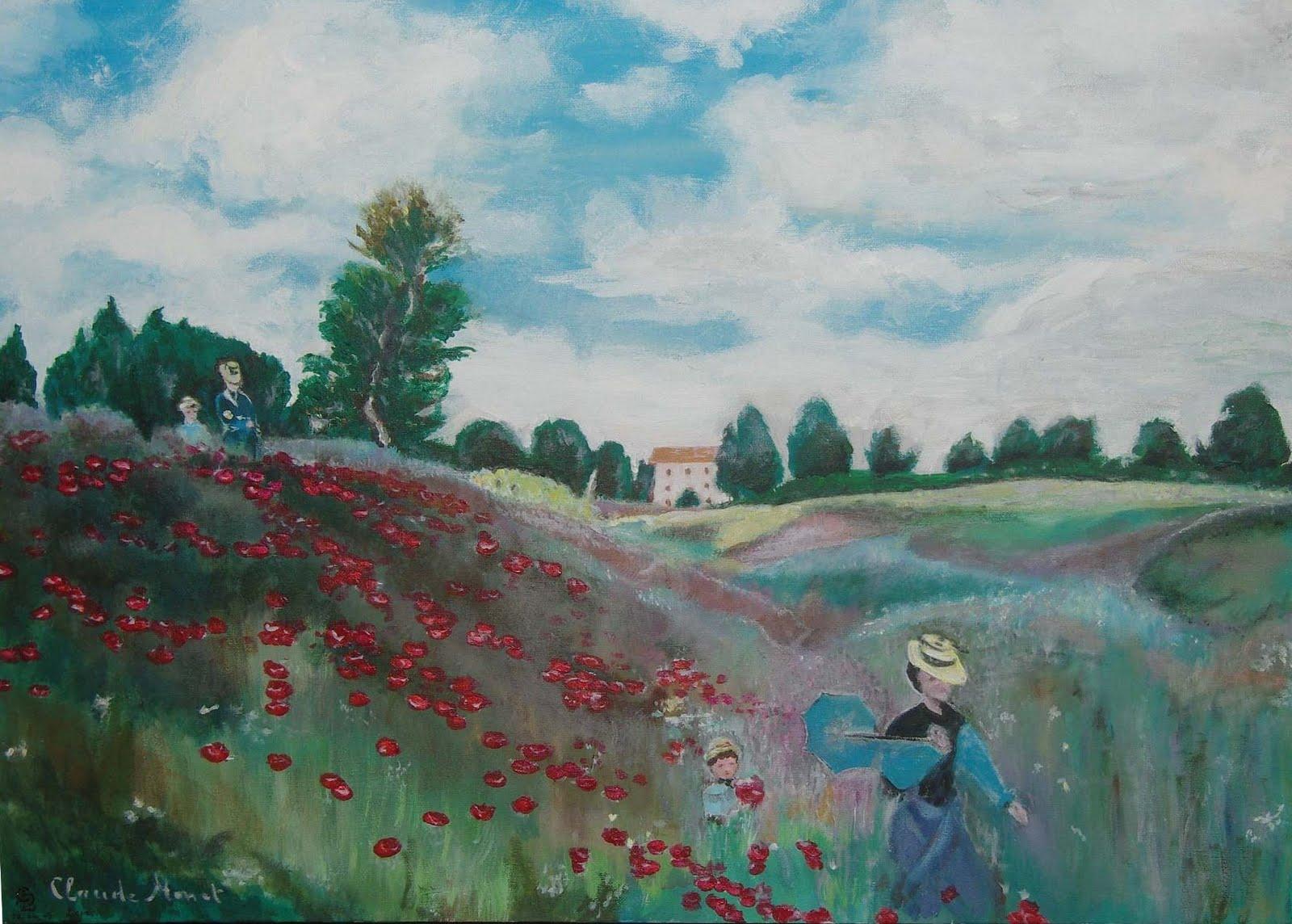Couleurs De Lettres: Impression - Claude Monet -