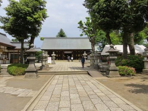 松蔭神社ご社殿