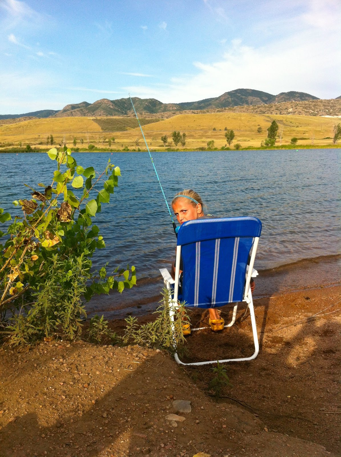 Aloha fridays september 2012 for Chatfield reservoir fishing